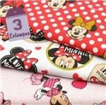 Kit de Tecido Minnie (30x70) 3 Estampas