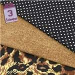 Kit de Tecido Pele Animal 09B (30x70) 3 Estampas