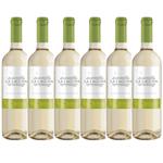 Kit de Vinhos Chilenos La Laguna Sauvignon Blanc 6 Garrafas