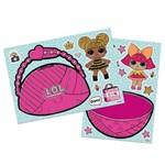 Kit Decorativo C/ Apliques Boneca Lol