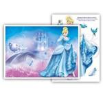 Kit Decorativo Cinderela- Painel e Enfeites