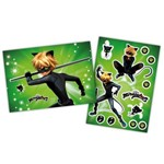 Kit Decorativo Miraculous Cat Noir - Painel e Enfeites