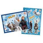 Kit Decorativo Olaf Frozen - Painel e Enfeites