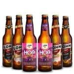 Kit Degustação 6 Cervejas Lohn 355ml