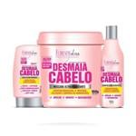 Kit Desmaia Cabelo Forever Liss com Máscara 950g