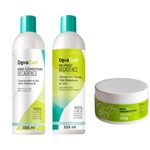 Kit Deva Curl Decadence no Poo One Condition Heave In Hair