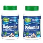 Kit 2 Dolomita - Cálcio e Magnésio 120 Cápsulas Unilife