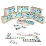 Kit Dominó Matemática com 8 Jogos Sortidos 1135 - Carlu