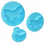 Kit Ejetor de Massa Borboletas com 3 Peças - Blue Star