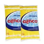 Kit 2 Elevador de Alcalinidade Ph Certo 2kg Genco para Piscina