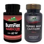 Kit Emagrecedor Burnflex Hardcore e Turbo Max Caffeine