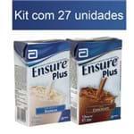 Kit Ensure Plus Abbott com 27 Unidades (Cód. 10688-10709)