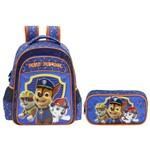 Kit Escolar Mochila 14 + Estojo Xeryus Paw Patrol Team Work (7993+7995)