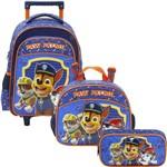 Kit Escolar Mochilete 14 + Lancheira + Estojo Xeryus Paw Patrol Team Work (7991+7994+7995)