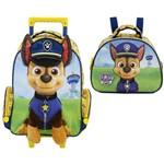Kit Escolar Mochilete 16 + Lancheira Xeryus Paw Patrol My First Pup (7970+7974)