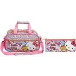 Kit Escolar Sacola + Estojo Hello Kitty Tiny Bears (7866+7867)