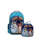 Kit Escolar Toy Story - Mochila + Lancheira Infantil Original Dermiwil