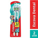 Kit Escova Dental Colgate 360º Macia 2x1