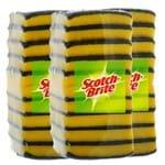 Kit Esponja Dupla Face com 30 Unidades Scoth-Brite