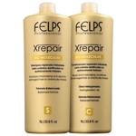 Kit Felps Profissional Xrepair Bio Molecular Salon Duo (2 Produtos)
