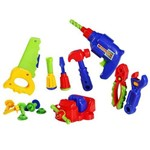 Kit Ferramentas Completo Infantil Criança Bebê Calesita 16 Peças Ref 457
