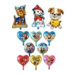 Kit Festa Balões Patrulha Canina Metalizados (11 Pçs)
