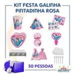 Kit Festa Galinha Pintadinha Rosa