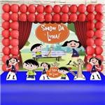 Kit Festa Infantil Show da Luna Tradicional Kit Ouro