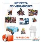 Kit Festa os Vingadores