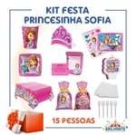 Kit Festa Princesinha Sofia