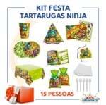 Kit Festa Tartarugas Ninja