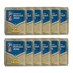 Kit Figurinhas Copa do Mundo FIFA 2018 - Blister 12 Envelopes (60 Unidades)
