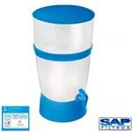 Kit Filtro de Água The Filter de Plástico Sap Filtros - Azul + Refil Sap Control