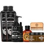 Kit For Men Barber Shop Completo para Barba Cabelo com Tônico de Crescimento