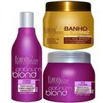 Kit Forever Liss - Platimun Blond + Banho de Verniz 250g