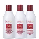 Kit Forever Liss Professional Home Care Anti-frizz Liso Protegido (3 Produtos)