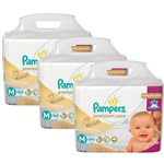 Kit Fraldas Pampers Premium Care Tam M - 252 Unids 6 a 9,5Kg
