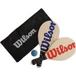 Kit Frescobol Wilson C/ Capa Mesh KF0003VMAZ