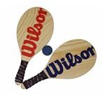 Kit Frescobol Wilson 2 Raquetes + 1 Bola Original
