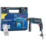 "Kit Furadeira Impacto Profissional 650w 1/2"" com Maleta Gsb 13 Re Bosch 127v"