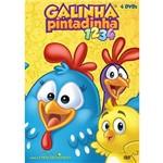 Kit Galinha Pintadinha - 4 Dvds