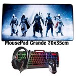 Kit Gamer 2018 Teclado Semi Mecânico e Mouse Exbom + Fone + Mousepad