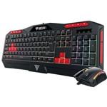 Kit Gamer - Combo Ares M1 - Teclado Ares M1 + Mouse Zeus E2 - Gamdias