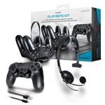 Kit Gamer para PS4 Headset Carregador Dual Dock Case DGPS4-6435 Dreamgear
