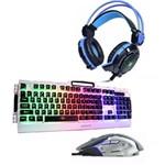 Kit Gamer Teclado Semi Mecânico / Mouse 6d / Fone Gamer Gh-x30