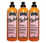 Kit 3 Gel Creme para Definir Yamasterol Cachos 320ml - Yamá
