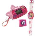 Kit Glamour Set - com Rádio + Relogio + Minigame Barbie - Candide