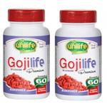 Kit 2 Goji Life Premium 120 Cápsulas Unilife