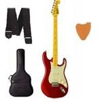 Kit Guitarra Tagima Woodstock Tg530 Mr Vermelho Metálico