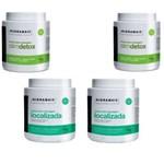 Kit Hidramais 2 Localizada Phytocafeil 1 Kg + 2 Slimdetox 1 Kg